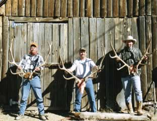 men with antlers